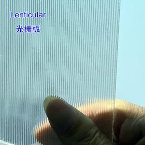 Best 3D Lenticular Lens Sheet 16lpi 120cmx240cm 6mm lenticular board for  3D lenticular wedding photo Colombia wholesale