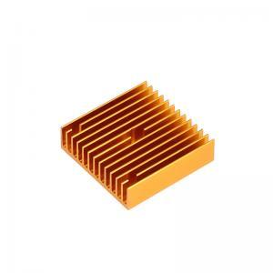 Best 40*40*11mm MK7 MK8 3D Printer Heatsink Gold Copper Radiator wholesale