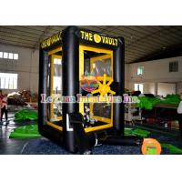 Best Customized Inflatable Sport Games / Inflatable Cash Machine Money House wholesale