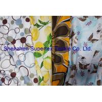 Best Reactive Print Custom Cotton Fabric / Custom Printed Cloth 72GSM wholesale