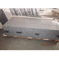 Best Anti Slip Outdoor Stone Stair Treads , G603 Granite Natural Stone Garden Steps wholesale