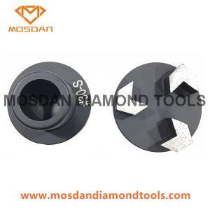 Best 3 Inch Terrco 3 Arrow Seg Diamond Grinding Plugs wholesale