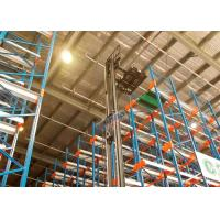 Pallet Radio Shuttle Racking Automated Shelving Systems With Two Motors