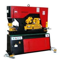 Best High Efficiency Metal Iron Worker Hydraulic Ironworkers With Double Cylinder wholesale