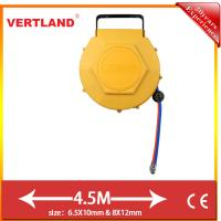 Buy cheap Auto Rewind Wall Swivel Mounted Retractabair hose reel GQ80C 8m 8*12mm(Water from wholesalers