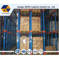 Best ISO, CE Guaranteed Warehouse Storage Drive In Rack , Structural Pallet Racking wholesale