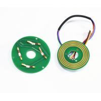 Best Separate Pancake Flat Slip Ring Thickness 6.2mm 380VAC 0~50rpm Working Speed wholesale