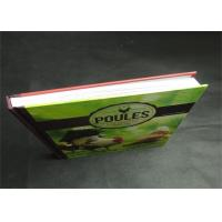 Best Eco-friendly Greyboard Hardcover Book Printing Services Embossing 1800gsm wholesale