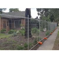 Best Builders Security Steel Temporary Fencing Mesh Panels For Domestic Housing Sites wholesale