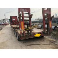 China Heavy Duty Used Construction Machinery HOWO Truck Tractor With Flatbed Trailer Transportation on sale