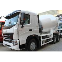 China 10CBM Concrete Mixer Truck For Construction Site / Concrete Mixer Drum Trailer on sale