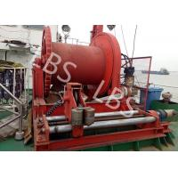 Best High Efficient 20 Ton Anchor Marine Electric Winch With Spooling Device wholesale