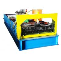 Best PCL Control Roofing Sheet Roll Forming Machine With Plate Bending Machine  wholesale