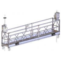 China ZLP Steel Suspended Working Platform for clean the external walls on sale