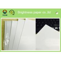 China Standard Size Gloss Art Paper 80g , Wood Free Coated Art Paper For Books Production on sale