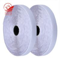 China Black Nylon Self Adhesive Hook And Loop Tape For Furniture , Sticky Hook Loop Straps on sale