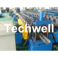 Best 75mm Roller Diameter, 7.5KW Steel Security Door Frame Roll Forming Machine wholesale