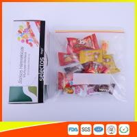 Best Durable Plastic Ziplock Snack Bags For Candy / Biscuits Storage Food Grade wholesale