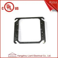 Best Two Gang Electrical Square Outlet Cover Without Screws , 1.0mm to 1.6mm Thickness wholesale