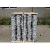 Best 4 Strand Razor Barbed Wire , Blade Barbed Wire Q195 Material For Fence Protective wholesale