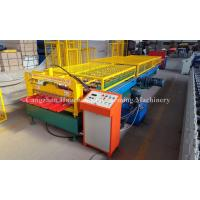 Quality 1.0mm Thickness Popular Profile Roofing Roll Forming Machine with Safe Cover wholesale