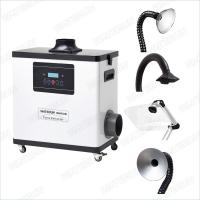 Buy cheap M6001DW Digital Nail Salon Fume Extractor / White Color Medical Portable Smoke Extractor 80W from wholesalers