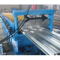 Best Floor Deck Panel Roll Forming Machine 380v 3 Phase 24 Steps Type High Efficiency wholesale