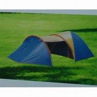 Best Camping Tent, Inner made of 170T Polyester, Available in Size of (220+150+120)x210x135cm wholesale