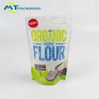 Best Coconut Flour Stand Up Gusseted Pouch SGS Certification Easy To Display wholesale
