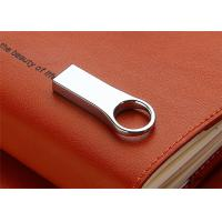 Best 50*20*9mm Engraved Mini USB Flash Drive 32G 64G 128G With Ring Sandisk Chip wholesale