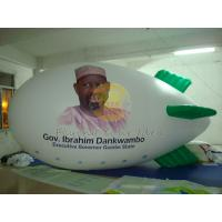 Best Inflatable Political Advertising Balloon / Zeppelin for Parade, Airship Balloons with Logo wholesale