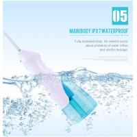 Best IPX7 Waterproof ABS Oral Water Irrigator Portable Rechargeable Light Weight wholesale