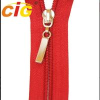 China Customized Open End / Close End Metal Zippers For Garments Eco Friendly on sale