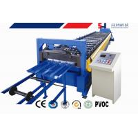 Quality Manual Decoiler Cold Roll Forming Machine , Corrugated Sheet Roll Forming Machine wholesale