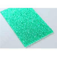 Cheap Green Embossed Polycarbonate Solid Sheet Sabic Material 2mm - 12mm Thickness for sale