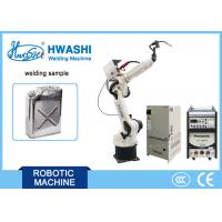 Cheap CNC Hwashi Six Axis Industrial Industrial Welding Robots Arm 2000mm Reaching for sale