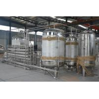 China RO System Water Purification Machine , Water Filter Plant Electricity Conduction Meter on sale