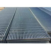 Cheap Plain Type Metal Walkway Grating , 25 X 5 / 30 X 3 Galvanized Floor Grating for sale