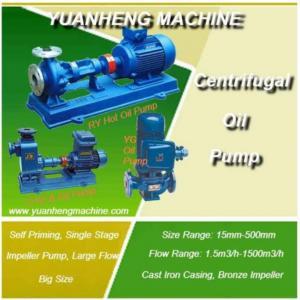 China Hot Oil Centrifugal Oil Pump/self Priming Oil Pump on sale