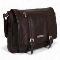 Best 10 to 13-inch Laptop/Messenger Bag, Comes in Brown, Measures 34.5 x 28 x 7cm wholesale