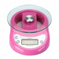 Cheap Cooking Measuring Home Electronic Scale Selectable Color With Over Load Indication for sale