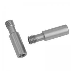 Best 27*7mm CR 10 Heatbreak 3D Printer Throat 303 Stainless Steel wholesale