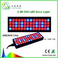 China Reflector 25w Led Weed Growing Lights , Square Red Led Plant Grow Lights  on sale