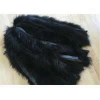 Cheap Jacket Raccoon Mens Fur Collar 100% Handmade With Customized Colors / Size for sale