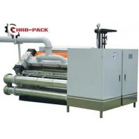 Best Heating Exchange Single Facer For Corrugated Cardboard Production Line wholesale