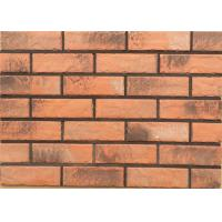 Quality Solid exterior veneer brick wall wear resistance for house building design wholesale