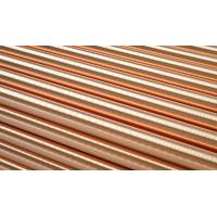 Best Flat Copper Round Rod Solid Brass Bars Construction Industry Corrosion Resistance wholesale
