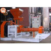 China 1-1.2 T/H 90 Kw Fish Feed Extruder Machine Aquatic Crab Catfish Tilapia 3600kg on sale