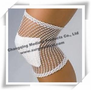 Best White Medical Bandage , Stretch Net Tubular Elastic Bandage For Injured Knee / Leg wholesale