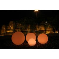 Best Dia 80cm PE Long Lasting Decorative LED Night Lights , LED Ball Lights wholesale